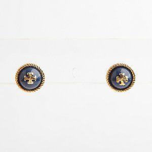 🔥Tory Burch T series round pearl logo earrings
